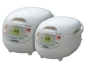 zojirushi ns zcc10 is a latest rice cooker that using neuro fuzzy technology.