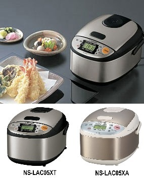 Reviews of the Zojirushi NS-LAC05XT Micom 3 Cup Rice Cooker And Warmer shows that this is the most popular model that cooks the perfect rice everytime
